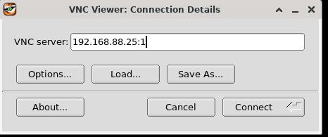 tigervnc vnc server ip address